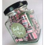 125g square jar with Label 3 design